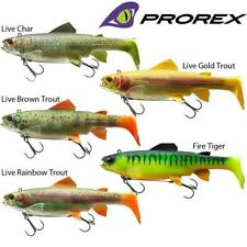 RAPTURE LIVE ACTION LURE 150MM SWIMMY 2 PC NATURAL EFFECT SYSTEM FIRE TIGER