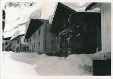 GARMISCH c. 1935 -  Rue du Village sous la Neige  Allemagne - DIV 6502