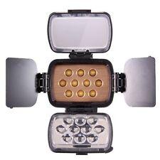 Cameraplus ® Universal Professional alta luminosità 10 LED Luce video + F750 BAT