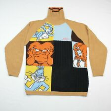 Studio Southpole Looney Tunes 2XL Gossamer Bugs Bunny Turtleneck Sweater Jumper