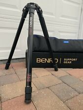 Benro A373T Aluminum Video Tripod (75mm Bowl) -slightly used