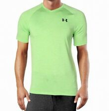 Under Armour Mens Activewear Top Lime Green Size Xl Short Sleeve $25- #346