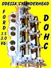 FORD LINCOLN MERCURY 3.0 DOHC CYLINDER HEAD CAST #RF-F7DE ONLY LEFT 96-02 REMAN