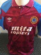 Aston Villa 1990-92 Home Shirt