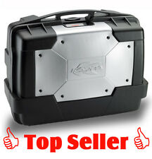 Kappa kgr33n Garda Noir/Argent 33 L Monokey Pointe & pages Valise utilisable