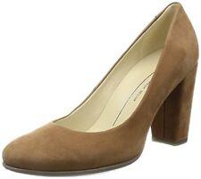 69ec63c1db7d ECCO Womens Camel Shape 75 Block PUMPS HEELS Shoe Size 39