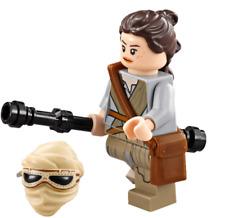 LEGO STAR WARS MINIFIGURA REY ORIGINAL DEL SET 75099 NEW
