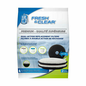 Catit Fresh & Clear Premium Replacement Filters - Pack of 2