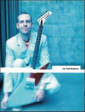 No Doubt Tom Dumont Hamer Standard Explorer guitar 8 x 11 pin-up photo