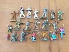 Starlux Military Army Navy Cowboys Indians Job Lot x20