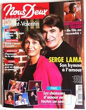 Photoromans NOUS DEUX 10/2/2004; Interview Serge Lama/ Alexandra Kazan