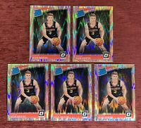 Lot of (5) 2018-19 Donruss Optic KEVIN HUERTER Rated Rookie Shock Holo #184 RC🔥
