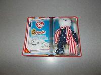 Spangle the Bear Beanie Babies toy new 2000 McDonalds ty International Bears II