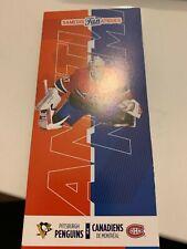 unused season hockey tickets Canadiens featuring Antti Niemi march 2  2019