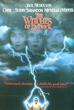 The WITCHES of EASTWICK(1987)Jack Nicholson Cher Susan Saradon Michelle Pfeiffer