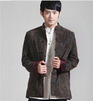 Handsome Chinese Men's winter cotton jacket coat Size: M L XL XXL 3XL
