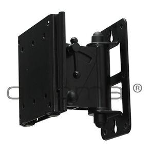 TV-Wandhalterung, quipma 557, schwenkbar, schwarz, 15-27 Zoll, bis VESA100, 30kg