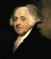 Dream-art Oil painting America President John Adams hand painted oil on canvas