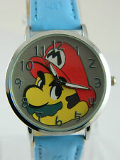 SUPER MARIO WATCH FULL FACE BLUE BAND