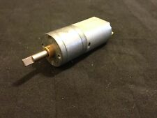 6V 85 RPM Torque Gear Box DC Motor For Watch Winding Electric b20