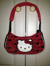 NEW Hello Kitty Red Apple Mini Hobo Purse