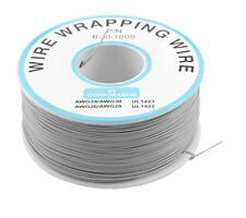 1pcs 0.25mm Wire-Wrapping Wire 30AWG Cable 250m Gray