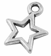 11g (Approx 30pcs) Tibetan Silver Colour Star Charm