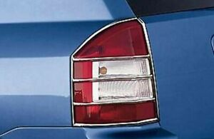 2007-10 Jeep Compass Left & Right Rear Chrome Tail Light Guard Kit 82209525