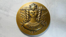 Japan Nagano Winter Olympic Official Bronze Medal - Goddess of Snow, 1998, UNC