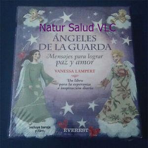 ANGELES DE LA GUARDA_MENSAJES PARA LOGRAR PAZ Y AMOR_ 48 Cartas+Libro_New Sealed