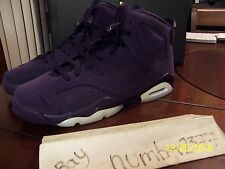 NEW 2016 Retro Nike Air Jordan VI 6 Purple Dynasty size 7Y  Doernbecher