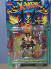 Marvel Flashack Series X-Men: Savage Land Wolverine Figure (ToyBiz 1996) NOC