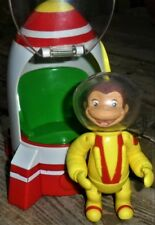 CURIOUS GEORGE FIGURE (POSABLE) AND ROCKET SHIP PLAYSET WITH LIGHTS