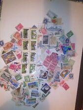 100 grammes de beaux  timbres français diverses époques de 1939 a 2018