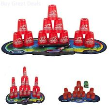 Cups Stacking Set Sport Speed Stacks Competitor Game Gen Mat Pro Timer Play Toy
