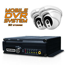 Vehicle Car Mobile System DVR SD Card Audio GPS with 2 Cameras for Bus Taxi