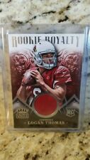 "LOGAN THOMAS 2014 PANINI CROWN ROYALE ""ROOKIE ROYALTY JERSEY"" #'rd /499  !!"