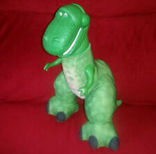 Fisher Price Toy Story BIG ROARIN REX 15in Green T-Rex Dinosaur Plush 2009