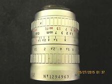 Vintage P Angenieux 15mm f1.3 Retrofocus Type R41 lens  sn 1294963