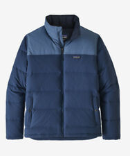 New Men's Patagonia Bivy Down Jacket Size XL Stone Blue/Woolly Blue