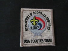 2007 World Jamboree USA Scouter Tour Patch    c12