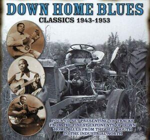 DOWN HOME BLUES CLASSICS 1943-1953 Four CD Set NEW