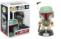 Funko Pop Star Wars™: Series 2 - Boba Fett™ Vinyl Bobble-Head Item #2386