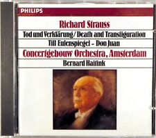 PHILIPS CD W. GERMANY R Strauss HAITINK Till Eulenspeigels SMOOTH CASE 411 473-2