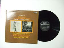 Britten–Serenade For Tenor,Horn And Strings-Disco Vinile 33 Giri LP UK 1970