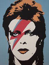 David Bowie Ziggy Stardust Starman Glam Rock Poster #1