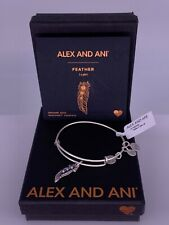 Alex and Ani Feather II Bangle
