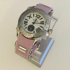 Aquaswiss Swissport M Ladies Pink Rubber and Stainless Steel Watch New