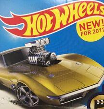 Hot Wheels 2017 HW Screen Time '68 Corvette Gas Monkey Garage Mint On Card