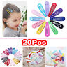 20x Baby Kid Girls Snap Hair Clips Pins BB Hairpins Barrettes Hair Accessory 2h